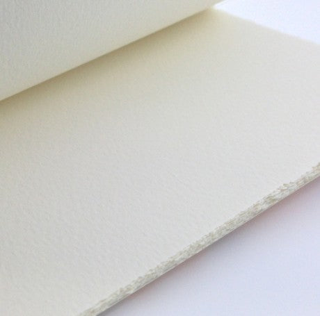 206L SINGLE DECKLED EDGE CARD - MEDIOEVALIS WHITE