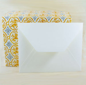 209E Medioevalis Envelopes Cream