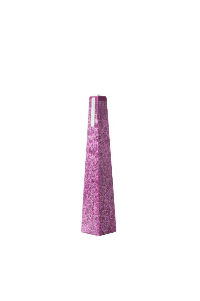 Candle Icicle Wild Plum Small