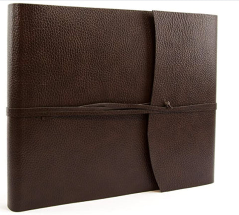 Tivoli Recyled Leather Photo Album Chocolate