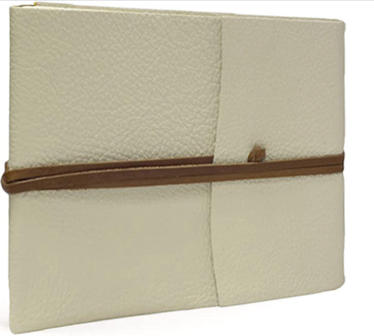 Tivoli Recyled Leather Photo Album White