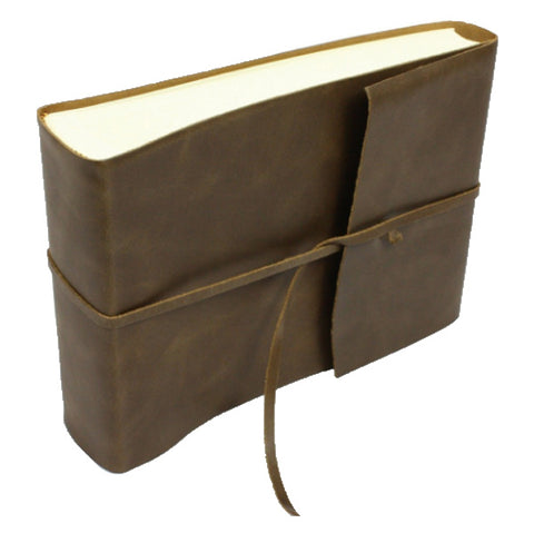 Amalfi Leather Photo Album Brown