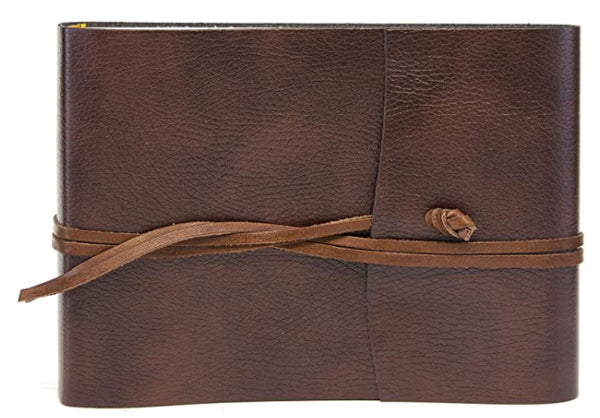 Tivoli Recycled Leather Photo Album Brown Small