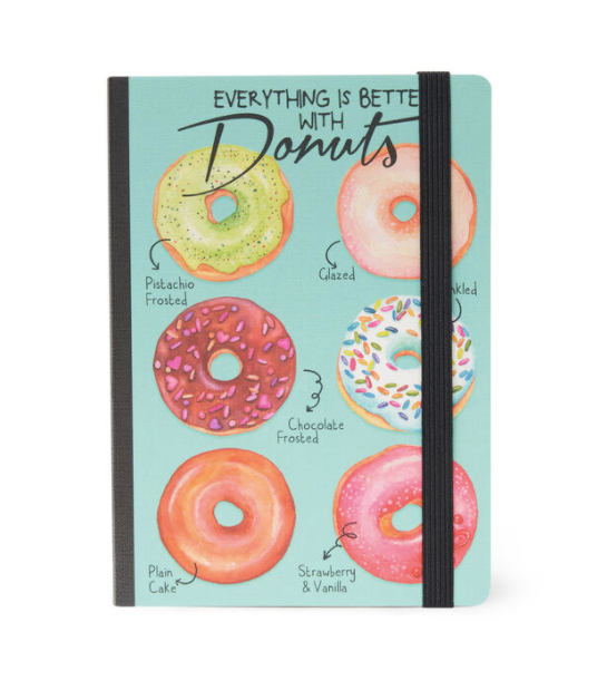 PHOTO NOTEBOOK MEDIUM- DONUTS