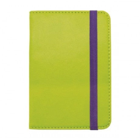 LIME/PURPLE PASSPORT HOLDER - LEGAMI