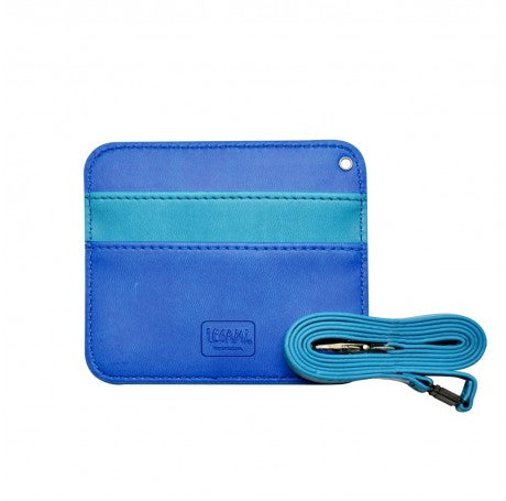 SKY BLUE BADGE HOLDER - LEGAMI