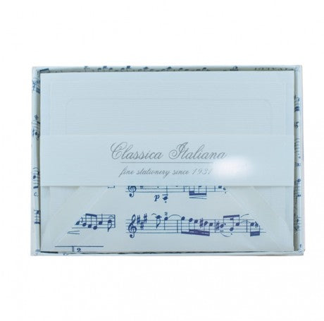 Musical Score Correspondence Cards Set