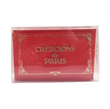 Red Correspondence Card Set