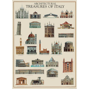 Architectural Treasures Of Italy Gift Wrap