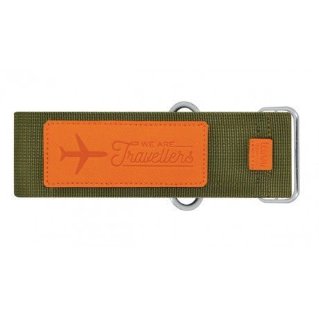 GREEN LUGGAGE STRAP - LEGAMI