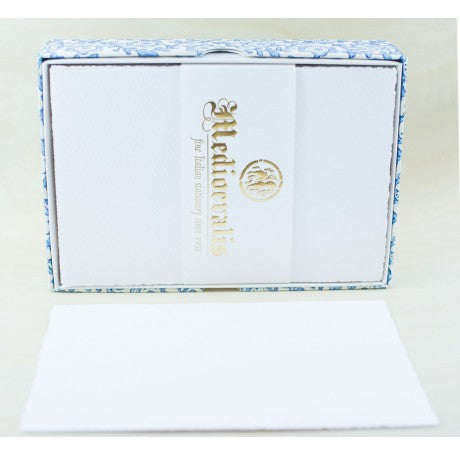 207s Medioevalis Deckled Edge White Flat Cards