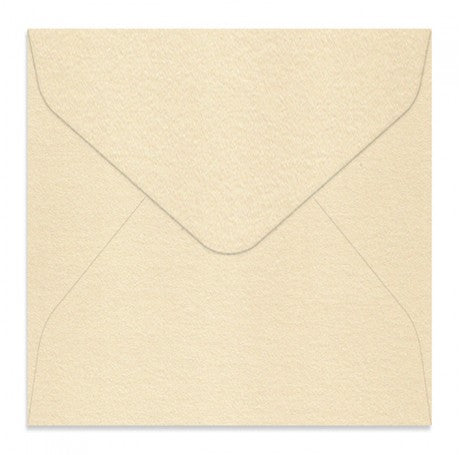 Curious Metallic Cream 160 Square Envelopes