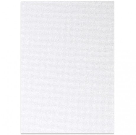 Oxford White Textured Card