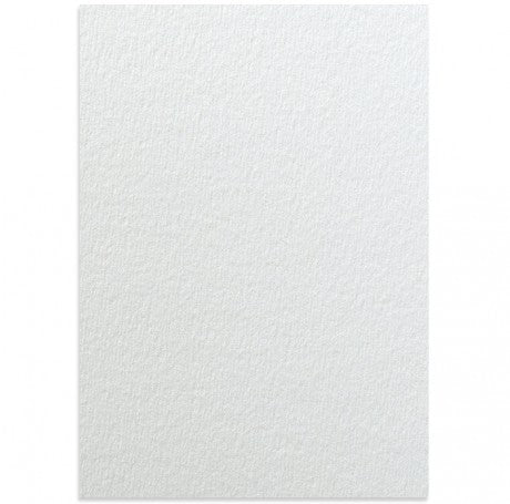 Rives Bright White Textured Card