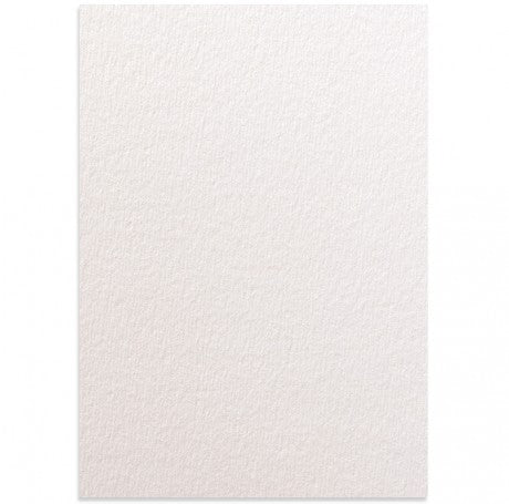 Rives Tarditional White Textured Card