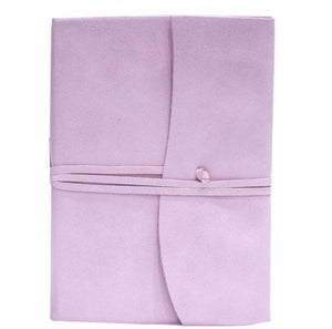 Amalfi Leather Journal Large - Pink