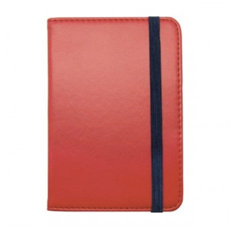 RED/RED PASSPORT HOLDER - LEGAMI