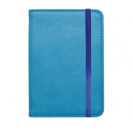 TURQUOISE/SKY BLUE PASSPORT HOLDER - LEGAMI