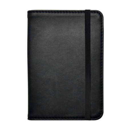 BLACK/BLACK PASSPORT HOLDER - LEGAMI
