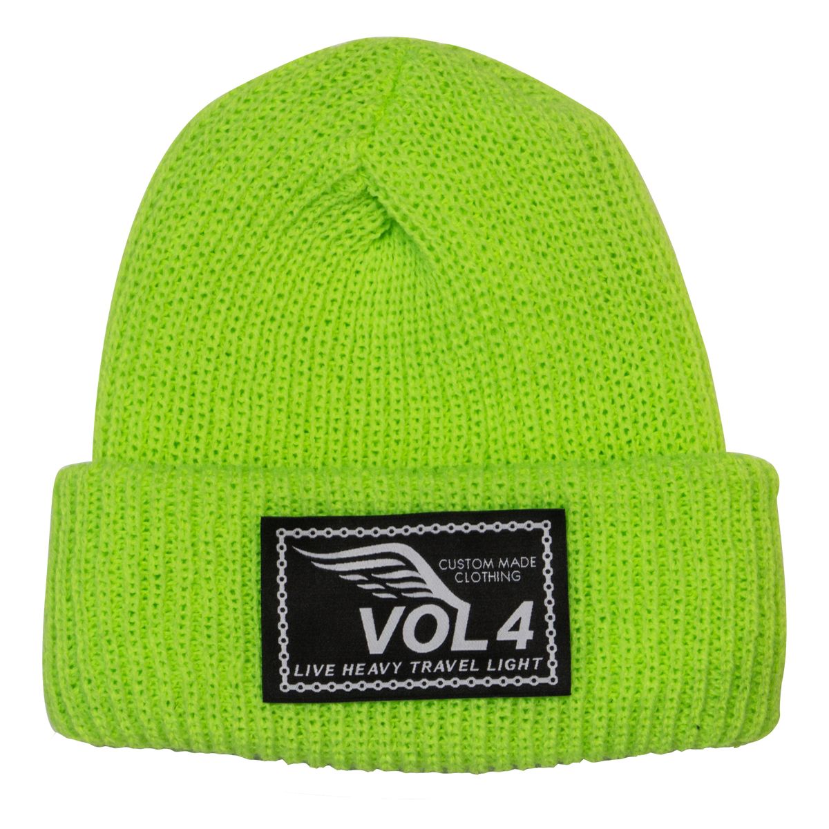 Speedwing Beanie Neon Green