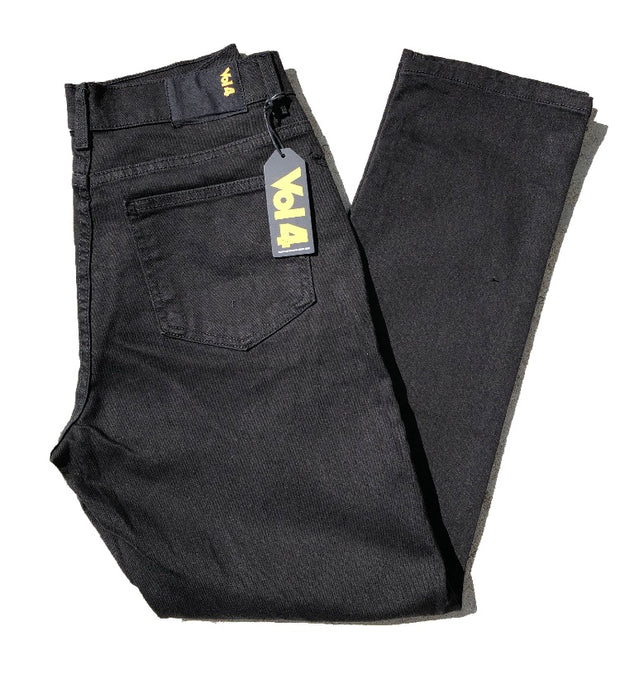 VOL4 SLIM FIT DENIM BLACK