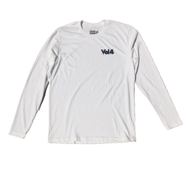 VOL4 OG LOGO L/S WHITE