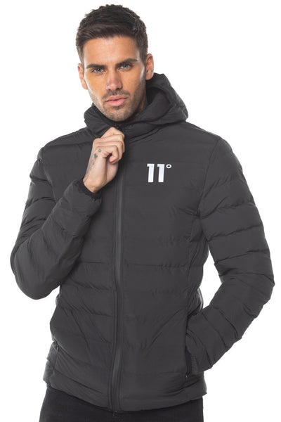 11 DEGREES SPACE PUFFER JACKET 11D031 001 (220)