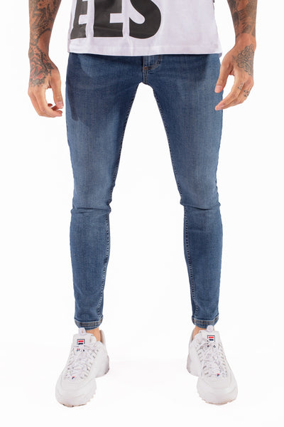 11 DEGREES ESSENTIAL SUPER STRETCH JEANS SKINNY 11D034 019 (220)