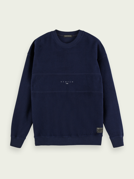 SCOTCH & SODA CREW NECK SWEAT 40-158479 0155 (220)
