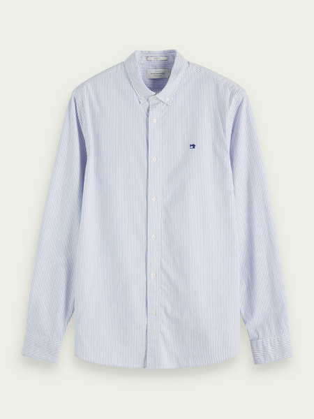 SCOTCH & SODA SHIRT 20-154458 0217 OXFORD (220)