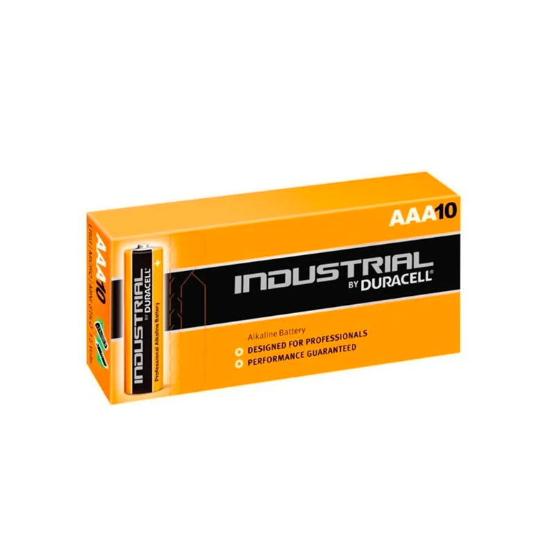 Bateria Duracell Industrial AAA Pack 10 Unidades