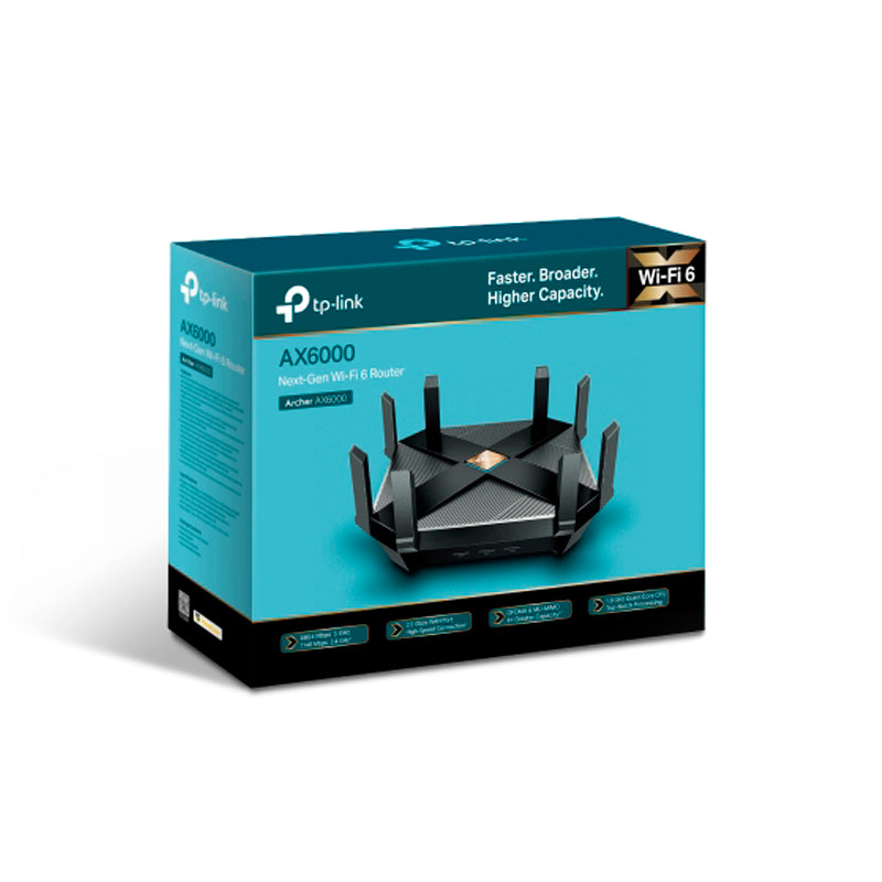 Router Tp-link Gigabit Dual Band Archer Ax6000
