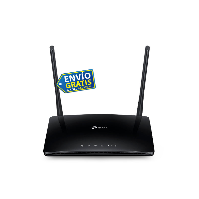 Router 4g Lte Wifi Inalámbrico N A 300mbps Tl-mr6400