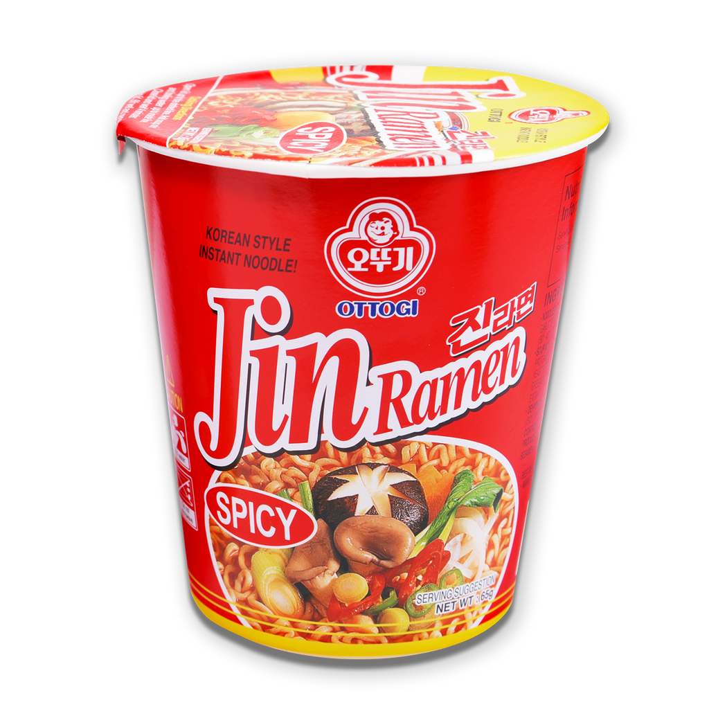 JIN RAMEN CUP HOT -VISUAL 65G/6