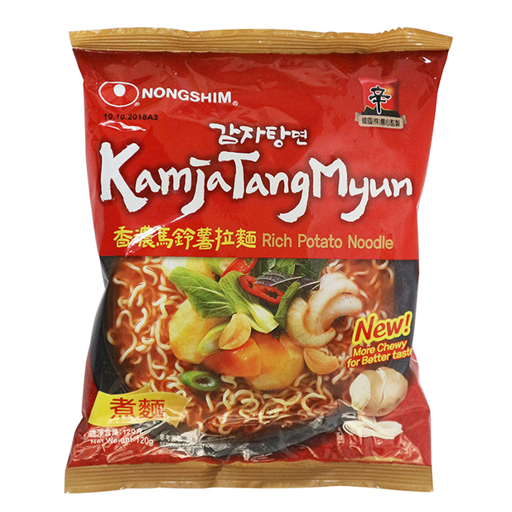 KAMJATANGMYUN MILD SPICY POTATO RAMYUN (C) 120G (30 PCS/CASE)