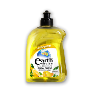 EARTH CHOICE LEMON BURST DISH CONCENTRATE 500ML (PER PIECE)
