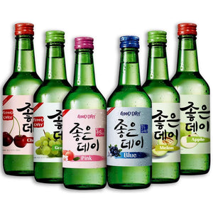 KOREAN SOJU - FLAVOURED (20 pcs)