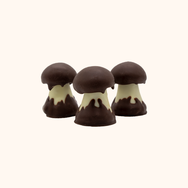 Caramel Mushrooms 4 Piece