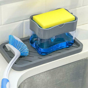 Soap Pump Dispenser & Sponge Caddy