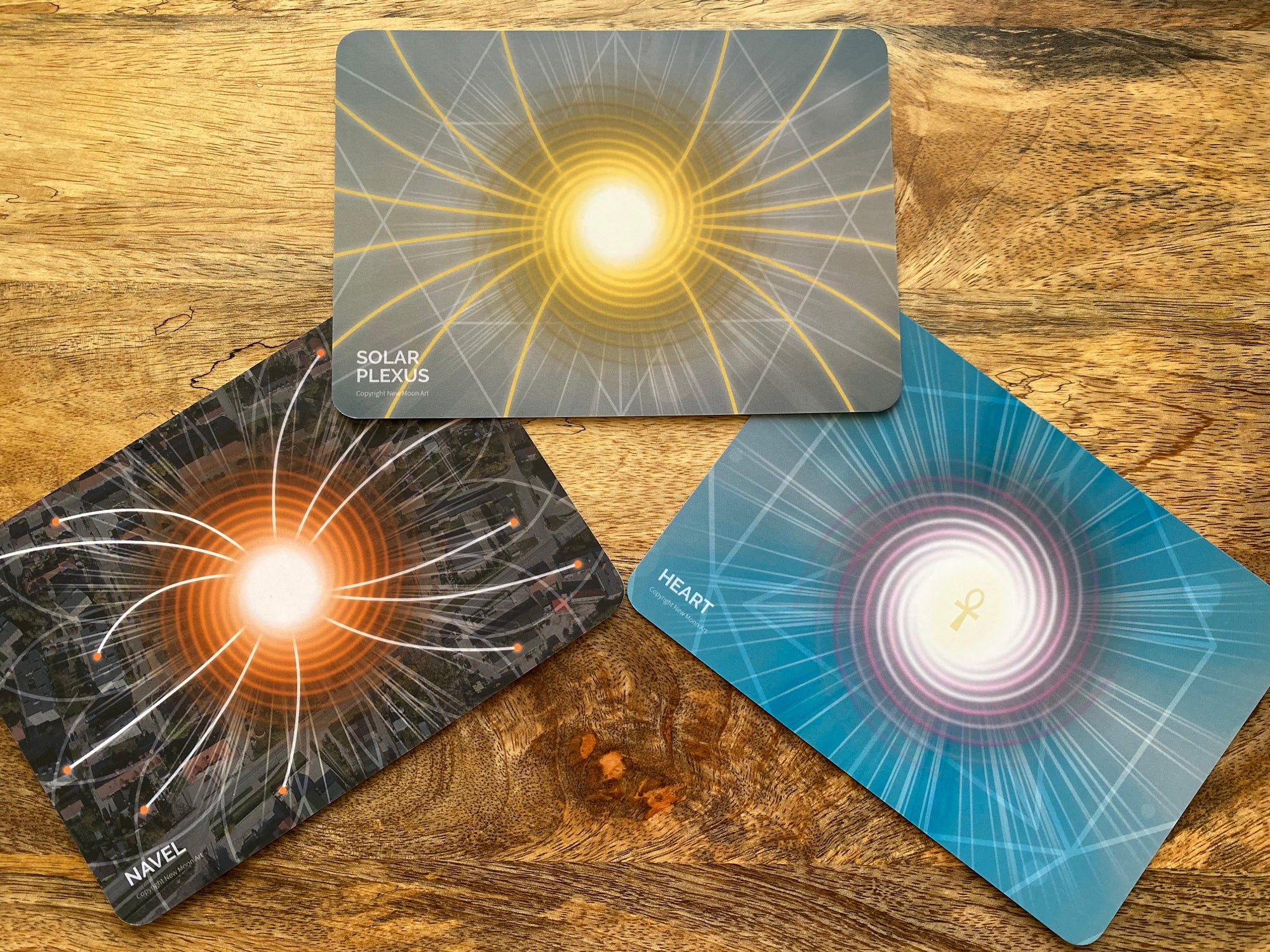 Fifth Dimensional Chakra Meditation and Healing Cards Deck