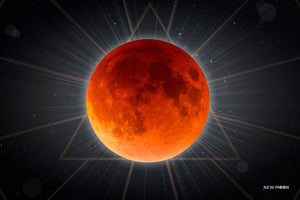 The Lunar Eclipse Print