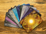Load image into Gallery viewer, Fifth Dimensional Chakra Meditation and Healing Cards Deck