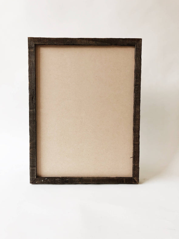 "12"" x 16"" Reclaimed Wood Gallery Frame"