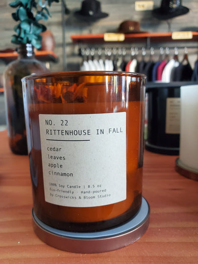 Rittenhouse in Fall No. 22 candle