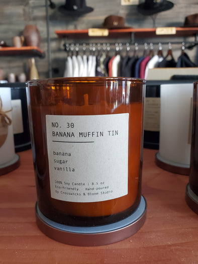 Banana Muffin No. 30 Soy Candle
