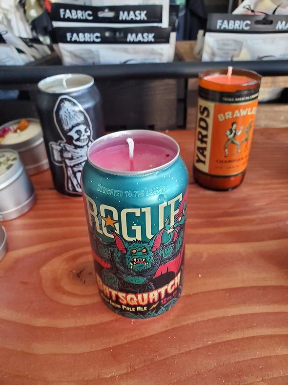 Handmade Beer Can & Bottle Candles - Random Pick