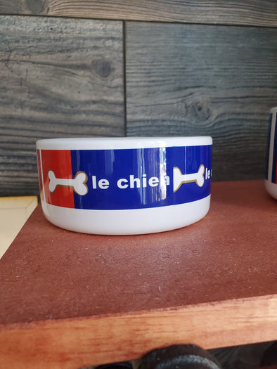 Le Chien Small Dog Bowl