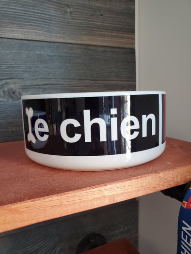 Le Chien Large Dog Bowl
