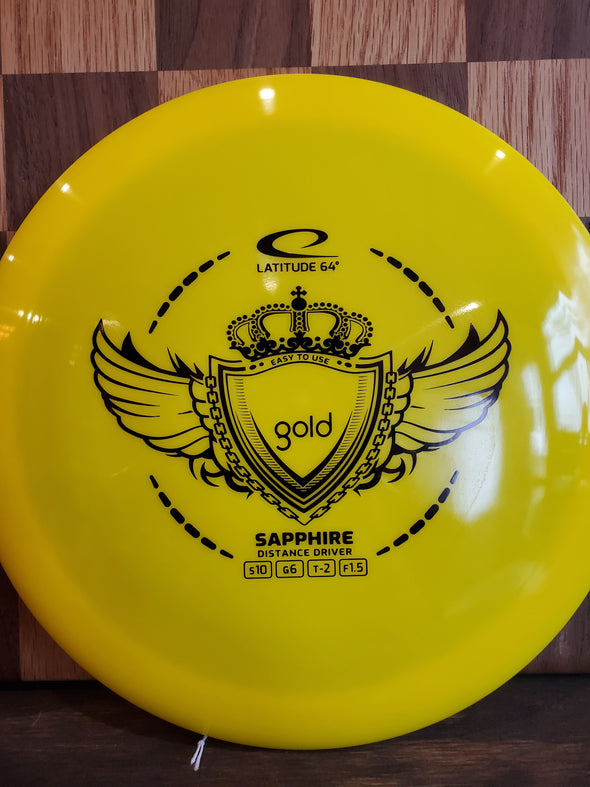 Latitude 64 Sapphire - Gold and Opto