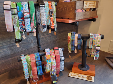 Taylor Hughes Art Hand Made Dog Collars - Tons of Styles!